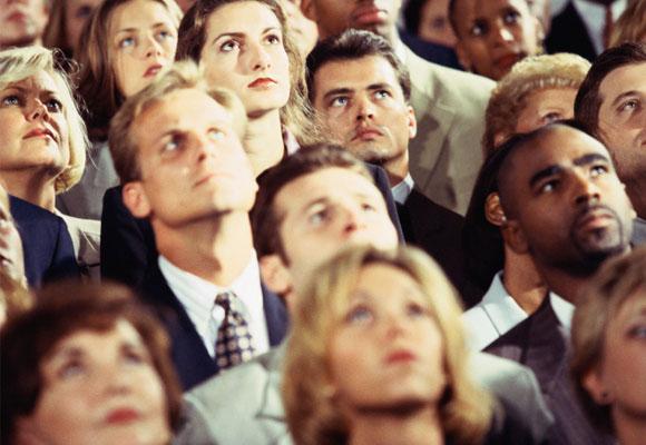 جلب توجه حضار و مخاطبان