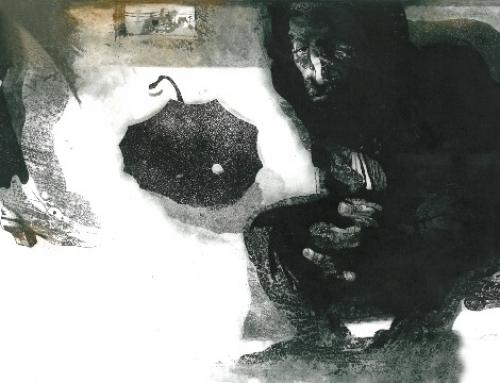 اثری از مهرداد ختایی برنده جایزه اول هنر چاپ فیبرنوس