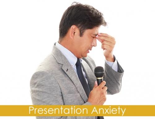 ۳ قدم برای غلبه بر اضطراب ارائه مطلب