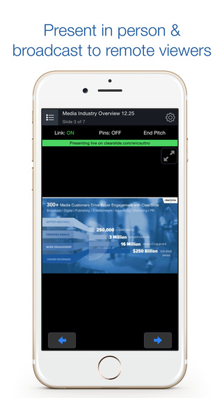 ClearSlide Presenter App