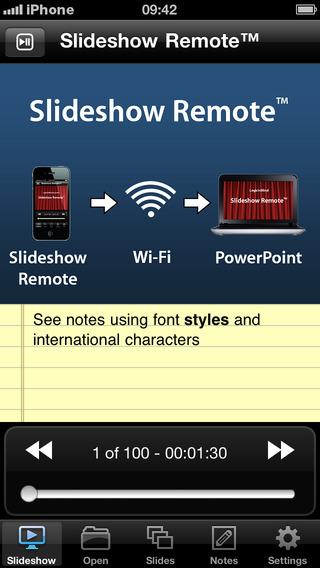 Slideshow Remote App