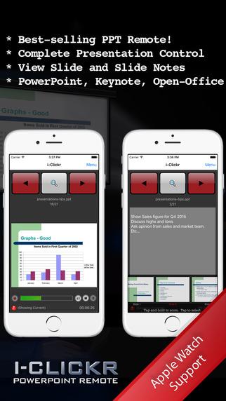 i-Clickr Remote App