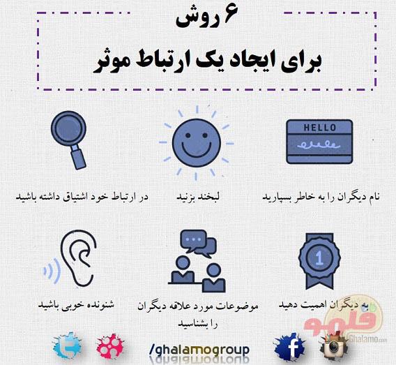 6 روش برای ارتباط موثر